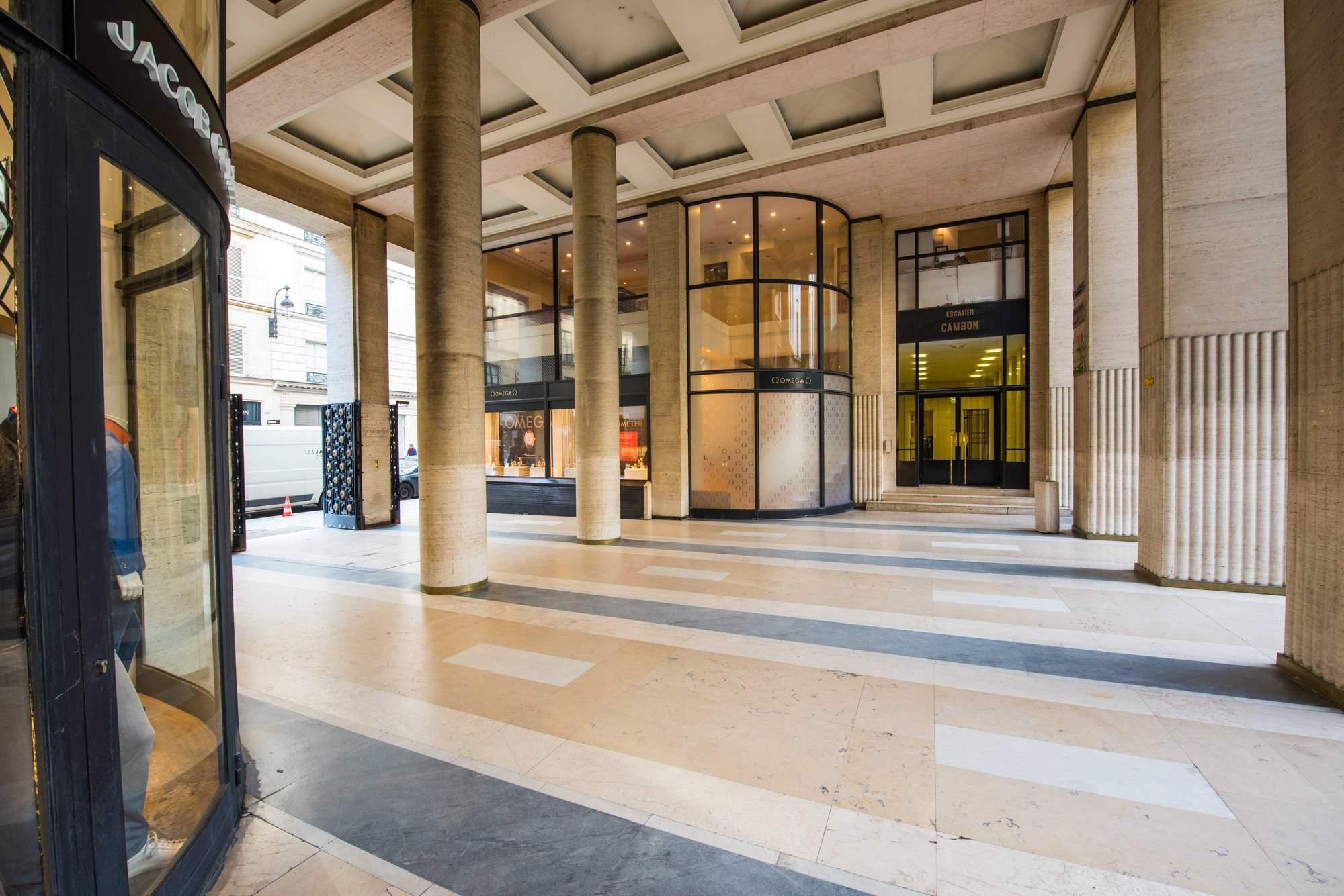 Paris – Cour Vendôme Image